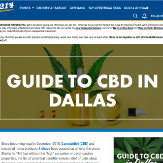Where To Find CBD in Dallas