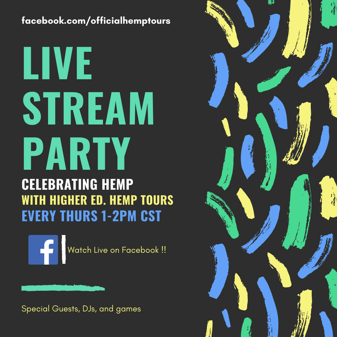 Hemp Live Stream Party