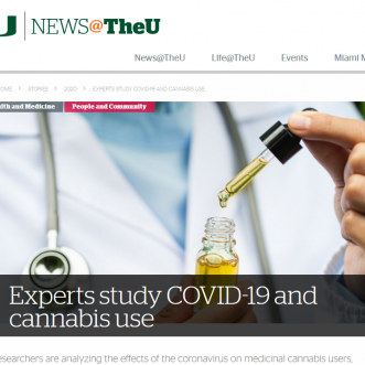 Participate In Cannabis vs. Covid-19 Research